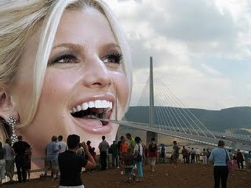 Amazing bridge goes inside ladies mouth amazing design and great engineering work to create new design in this world