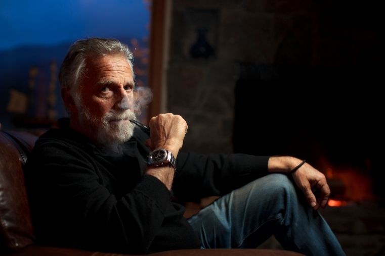 Most Interesting Man Takes Land Mine Role