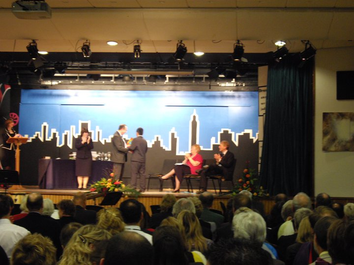 Purak Receiving Senior Prize in an IB World School in UK