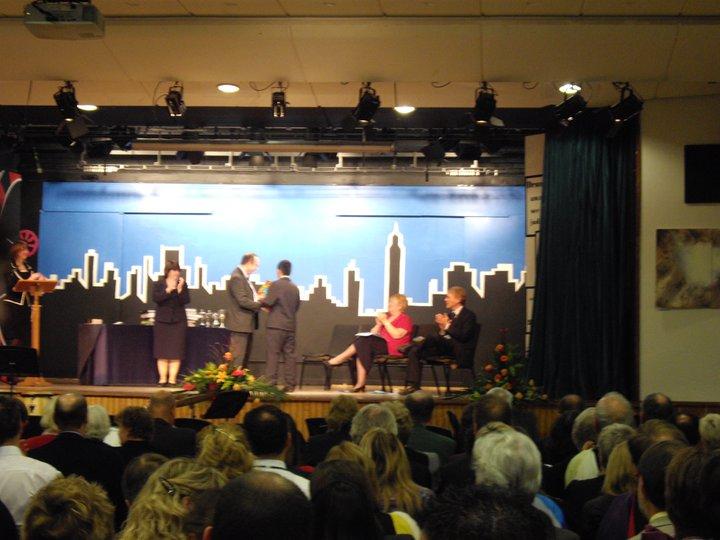 Purak Receiving Senior Prize in an IB World School in UK