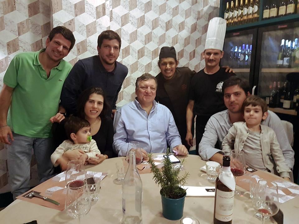 Dr. Durão Barroso [former President of the European Union] and his nice family