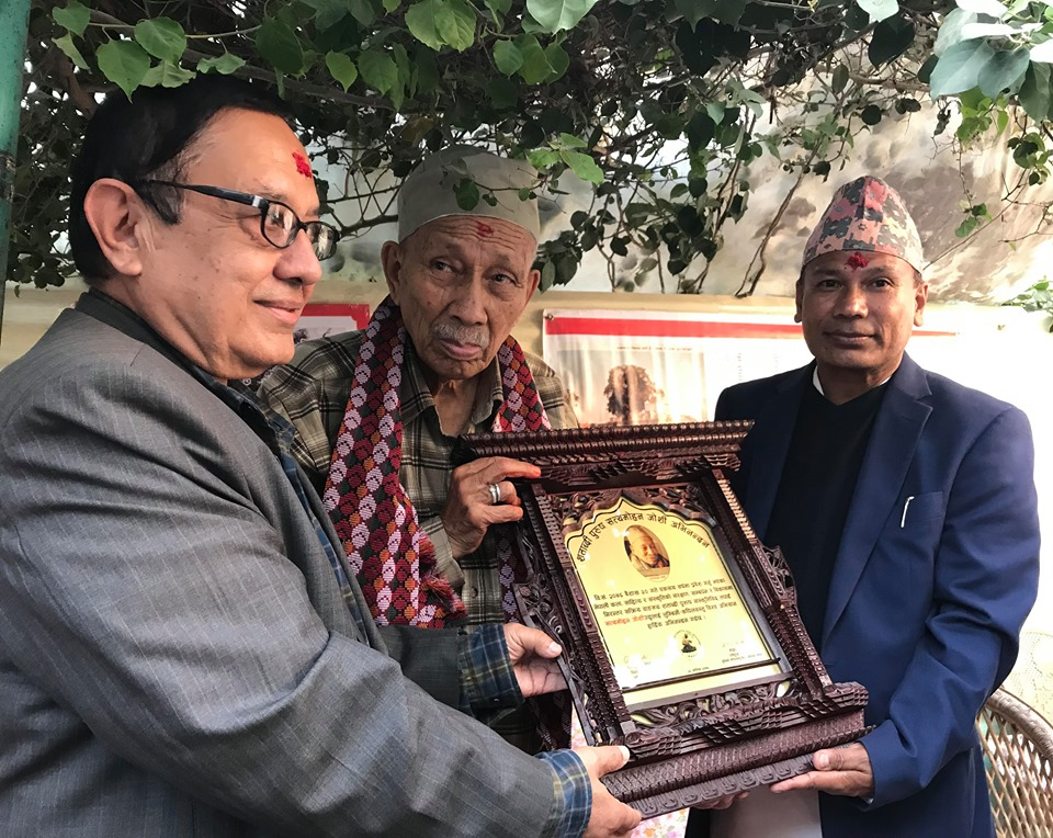 Satya Mohan Felicitation
